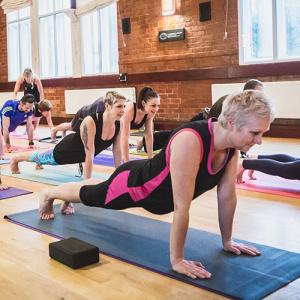 Yoga class in Leek