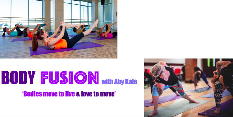 NEW CLASS 'BODY FUSION' @ the Michelin 6-7pm :)