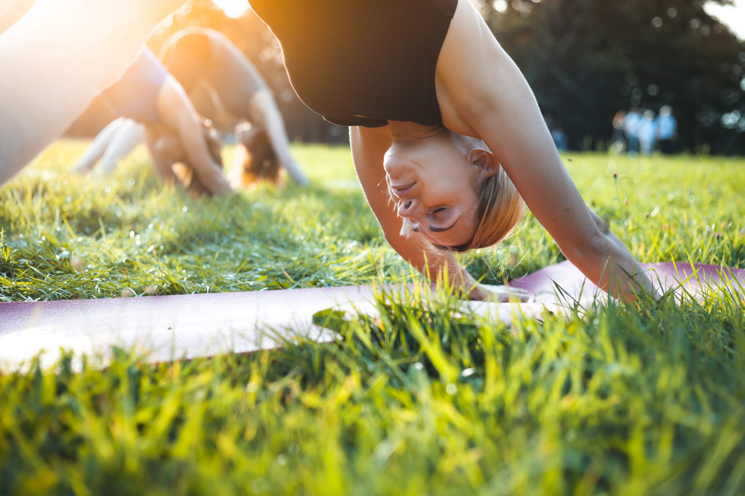 First Outdoor Yoga Sessions wk comm 10th August …
